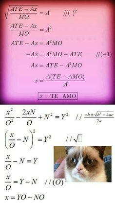 Lol grumpy math cat again.