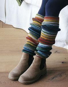 Model / Pattern of Leg Warmers of of Autumn / Winter from KATIA