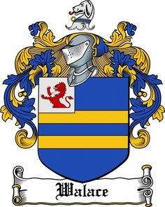 Walace Coat of Arms Walace Family Crest Instant Download - for sale, $7.99 at Scubbly