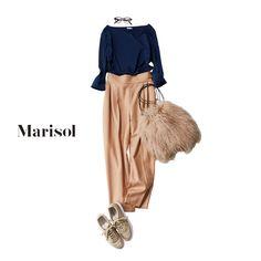 朝活ヨガの日はスニーカーにデコルテ映えする美人トップスで女らしく【2017/11/27コーデ】Marisol ONLINE|女っぷり上々!40代をもっとキレイに。 Fashion Still Life, Work Fashion, Asian Fashion, Hijab Fashion, Fashion Outfits, Womens Fashion, Fashion Design, Modest Outfits, Chic Outfits