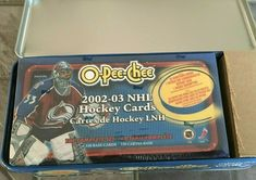 OPC O-Pee-Chee 2002-03 Complete Set (330) including Tin Box MINT! ROY RE-PRINT  #TorontoMapleLeafs Connor Mcdavid, Colorado Avalanche, Tin Gifts, Hockey Cards, Toronto Maple Leafs, Tin Boxes, Upper Deck, Mint, Sports