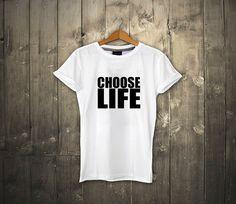 wham - choose life T-shirt