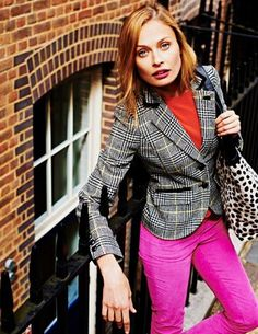 I've spotted this @BodenClothing British Tweed Blazer Black and Cream Check