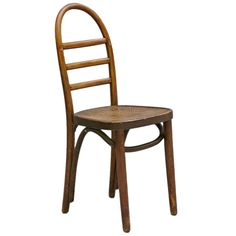Thonet+Bentwood+Ladder+Back+Chair+|+From+a+unique+collection+of+antique+and+modern+side+chairs+at+https://www.1stdibs.com/furniture/seating/side-chairs/