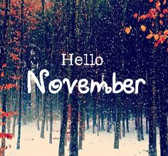 The Transition Month From Fall To Winter.
