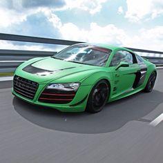 Matte Green Audi R8