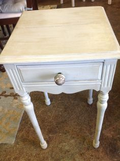 Night Stand -using Amy Howard One step Paint Available at Revisit