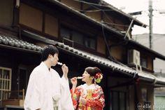 京都の町屋老舗前にて前撮り* |*ウェディングフォト elle pupa blog*|Ameba (アメーバ)