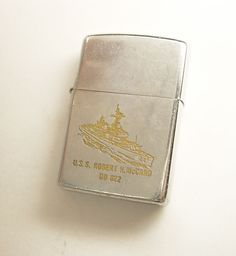 Antique US Navy zippo Vintage Cigarette Case, Zippo Lighter, Advertising Poster, Vietnam War, Us Navy, Handmade Gifts, Etsy, 1950s, Literature
