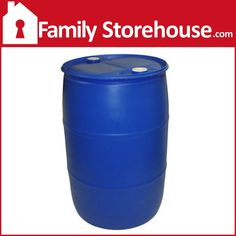 55 Gallon Water Barrel If You are Searching for a Safe, Cost-Effective and High Quality Option for Storing Water, This 55 Gallon Water Storage Barrel is the Best Option.Probably the Most Universally R
