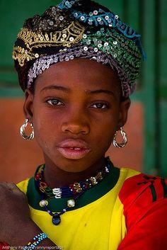 Fulani girl , Sahel, Northern Burkina Faso