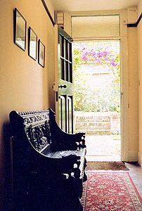 Entryway at Lewis's home, The Kilns Joy Davidman, Jane Wilson, Country Cottage Garden, Cs Lewis, Hard Times, Don't Give Up, Narnia, Tolkien, Storyboard