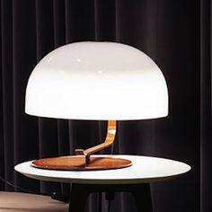 Zanuso Table Lamp   Oluce Srl at Lightology