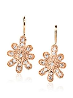 68% OFF Belargo Flower Leverback Earrings