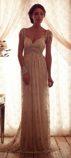 Love Anna Campbell dresses. So elegant.... Probably couldn't afford this but love this dress