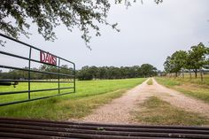 Entering the Davis Ranch Retreat, a peaceful 40 acre ranch about an hour outside of Austin.