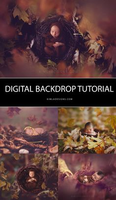 How to use Digital Backdrop Free PS Tutorial                                                                                                                                                                                 More