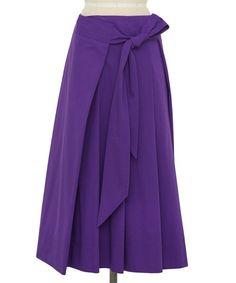 --DRAWER | Drawer サイドリボン タックスカート-- 鮮やかなカラーが特徴的なスカート。スクエア状の生地をウエストで折りたたんだ様なデザイン。リボンが左脇寄りになる少し斜めの着用位置。店舗へお問い合わせの際は、全国のDrawer 各店舗まで下記の品名/品番をお申し付け下さい。品名:D RT1 CO SIDE RBN TKSK 品番:6524-299-1158