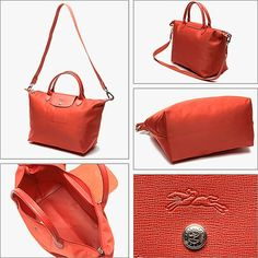 LONGCHAMP LE PLIAGE N  O MEDIUM HANDBAG WITH STRAP.  longchamp  bags 8899c4db06998