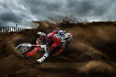 Motocross Photography by Andy Ferguson, via Behance