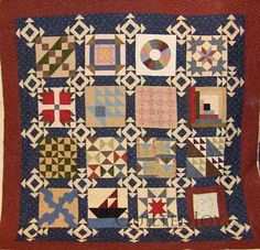 Sampler of Freedom Quilt squares used in the Underground Railroad.
