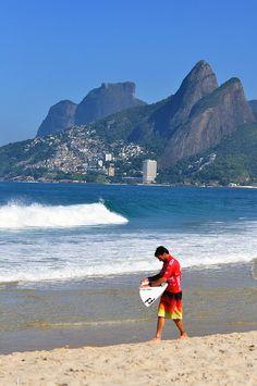 Praia do Arpoador Billabong Rio Pro 2012 - Foto: Alexandre Macieira | Riotur - Rio de Janeiro