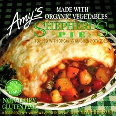 Better Than The Freezer Aisle: Copycat Amy's Gluten Free Dairy Free Shepherd's…