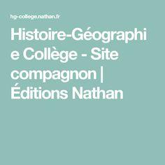 Histoire-Géographie Collège - Site compagnon   Éditions Nathan