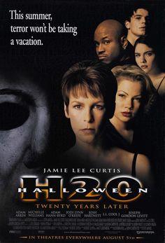Halloween: H20 Movie Poster - Internet Movie Poster Awards Gallery