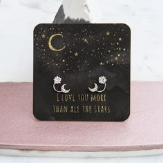 Earrings - Dose of Rose – DOSE of ROSE Show how much she means to you and present her with some Choose a card insert for a special touch. Jewellery Uk, Rose Jewelry, Love You More Than, Presents, Touch, My Love, Day, Earrings, Cards