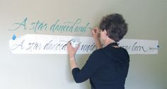 Writing on Walls - Carol Dubosch - Shakespeare Quote