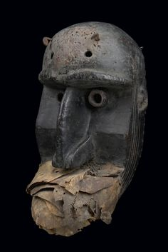 Dan Bugle Mask, Ivory Coast http://www.imodara.com/post/93438156294/ivory-coast-dan-bugle-war-mask