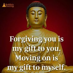 Moving on is gift to myself.