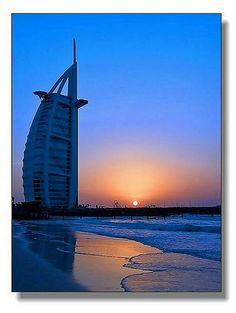 Sunset@Dubai by hk_traveller, via Flickr