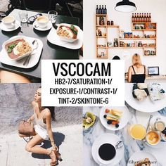 7 Filters that make great themes on We Heart It Photography Filters, Vsco Photography, Photography Editing, Instagram Themes Vsco, Feeds Instagram, Fotografia Vsco, Best Vsco Filters, Vsco Filter, Photo Editing