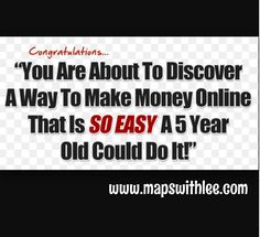 100% Make Money Daily Instant cash deposits to your account No selling or sponsoring required Make money in the next hour Guaranteed!  Www.mapswithlee.com