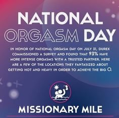 Happy National Orgasm Day! Here Are the Places You're Dying to Get It On (lol)