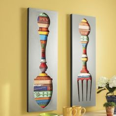 Fork and Spoon Wall Décor from Montgomery Ward®
