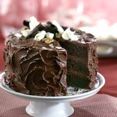 Triple Layer Chocolate cake from Better Homes and Gardens