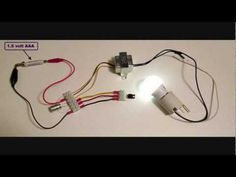 Joule thief with 120 VAC LED bulb - part 3 - YouTube