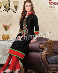 Beautiful Cozy Cotton Embroidered Suits To Buy Visit www.zikimo.com or contact us M : 91 8284833733 http://ift.tt/1XRI6MC - http://ift.tt/1HQJd81