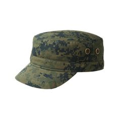 Kangol Digital Adjustable Army Cap - Major ( 44) ❤ liked on Polyvore  featuring accessories 0d8f0b17a60
