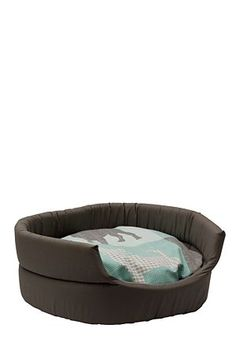 With this bed your furry friend will be sleeping in style and matching your decor. It is the perfect size for small to medium sized dogs, and