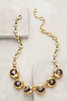 Domed Bib Necklace
