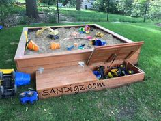 Completed build pictures of the Adventure sand box. Check back often, this page will be updated as customers send in pics of their sandbox build projects