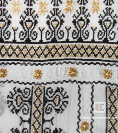 Just a small detail of the embroidery of a Romanian blouse. All the embroidery is hand sewed in the Romanian countryside. Please check our updated inventory of hand embroidered Romanian blouses on www.ieRomaneasca.com worldwide shipping #vyshyvanka #romanianblouse #ia #ieromaneasca #bohostyle