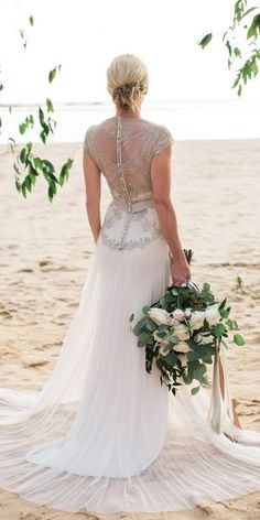 24 Vintage Lace Wedding Dresses Which Impress Your Mind ❤ vintage lace wedding dresses sheath with cap sleeves country rustic gwendolynne ❤ #weddingdresses Vintage Lace Weddings, Ballroom Wedding, Moda Online, Bridal Dresses, Prom, Couture, Bride, Sexy, Inspiration