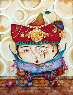 JESTER.Limited edition print edition of 35 by TheArtofaGrayWizard, $25.00