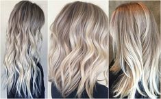 Looking to go a blonde ombre? One of the newest trends in blonde locks is crystal ash hair.