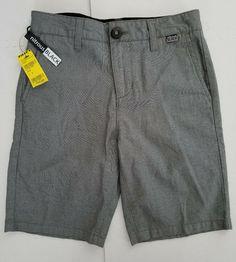 Drawstring Light Gray Pull-On Shorts 16 NWT Cat /& Jack Boys XL